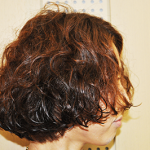 重めカール〜ミディアム〜